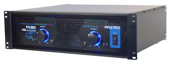 Pyle - RBPZR30XA , DJ Equipment , Power Amplifiers , 4400 Watt Professional DJ Power Amplifier