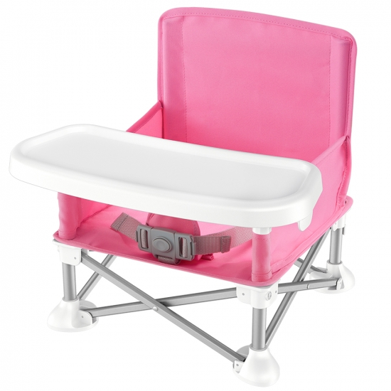 Pyle - SLBS66P , Misc , Baby & Toddler Booster Seat Feeding Chair, Easy Setup Portable & Folding Style