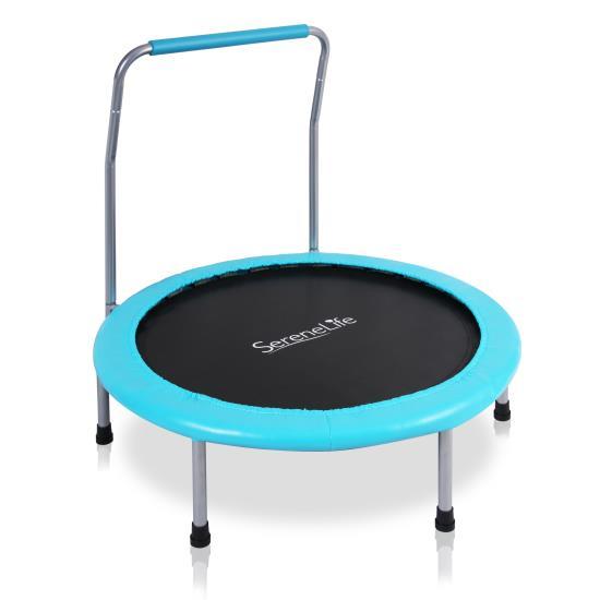 Pyle - SLELT367 , Misc , Sports Exercise Spring-less Kid Size Trampoline