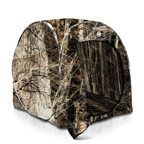 Pyle - SLHT39 , Misc , Reliable Spring Steel Blind - Person Hunting Ground Blind, Includes Carrying Bag