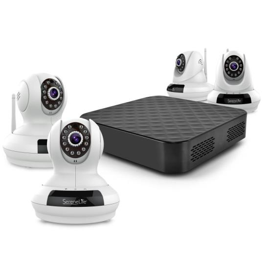 Cloud Drive Network Recorder NVR - Wireless Recording for